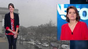 Fanny Agostini à la Météo de BFM TV - 10/02/17 - 17