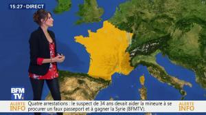 Fanny Agostini à la Météo de BFM TV - 10/02/17 - 18