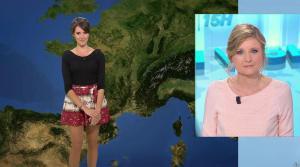 Fanny Agostini à la Météo de BFM TV - 12/04/17 - 01