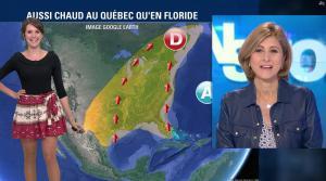 Fanny Agostini à la Météo de BFM TV - 12/04/17 - 08