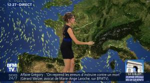 Fanny Agostini à la Météo de BFM TV - 12/07/17 - 04