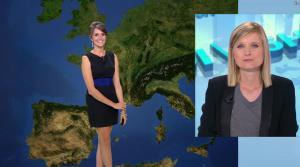 Fanny Agostini à la Météo de BFM TV - 12/07/17 - 08