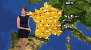 Fanny Agostini à la Météo de BFM TV - 12/07/17 - 14