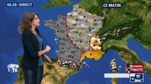 Fanny Agostini à la Météo de BFM TV - 16/01/17 - 03