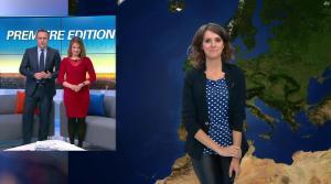 Fanny Agostini à la Météo de BFM TV - 16/01/17 - 04