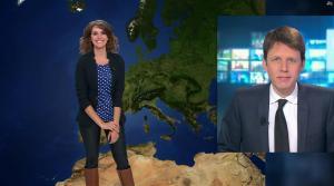 Fanny Agostini à la Météo de BFM TV - 16/01/17 - 08