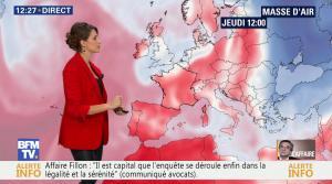 Fanny Agostini à la Météo de BFM TV - 16/02/17 - 01