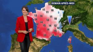 Fanny Agostini à la Météo de BFM TV - 16/02/17 - 02