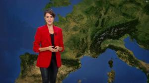 Fanny Agostini à la Météo de BFM TV - 16/02/17 - 03