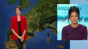 Fanny Agostini à la Météo de BFM TV - 16/02/17 - 05