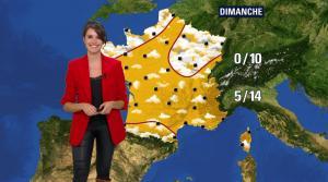 Fanny Agostini à la Météo de BFM TV - 16/02/17 - 06