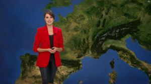 Fanny Agostini à la Météo de BFM TV - 16/02/17 - 07