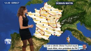 Fanny Agostini à la Météo de BFM TV - 17/02/17 - 02