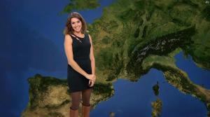 Fanny Agostini à la Météo de BFM TV - 17/02/17 - 05