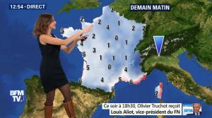 Fanny Agostini à la Météo de BFM TV - 17/02/17 - 06