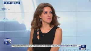 Fanny Agostini à la Météo de BFM TV - 17/02/17 - 07