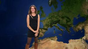 Fanny Agostini à la Météo de BFM TV - 17/02/17 - 11