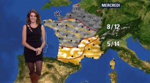 Fanny Agostini à la Météo de BFM TV - 17/02/17 - 13