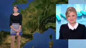 Fanny Agostini à la Météo de BFM TV - 19/04/17 - 01