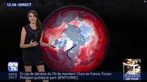 Fanny Agostini à la Météo de BFM TV - 19/05/17 - 02