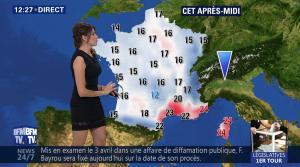 Fanny Agostini à la Météo de BFM TV - 19/05/17 - 03