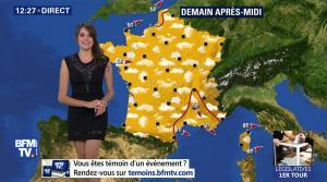 Fanny Agostini à la Météo de BFM TV - 19/05/17 - 06