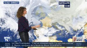 Fanny Agostini à la Météo de BFM TV - 20/12/16 - 02