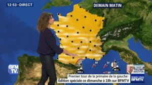 Fanny Agostini à la Météo de BFM TV - 20/12/16 - 03