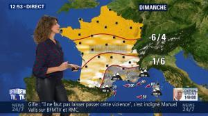 Fanny Agostini à la Météo de BFM TV - 20/12/16 - 04