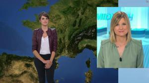 Fanny Agostini à la Météo de BFM TV - 21/03/17 - 02