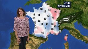Fanny Agostini à la Météo de BFM TV - 22/03/17 - 02