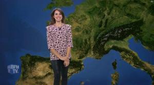 Fanny Agostini à la Météo de BFM TV - 22/03/17 - 03