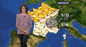 Fanny Agostini à la Météo de BFM TV - 22/03/17 - 05
