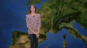 Fanny Agostini à la Météo de BFM TV - 22/03/17 - 06