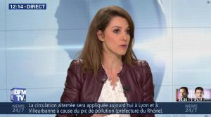 Fanny Agostini à la Météo de BFM TV - 23/01/17 - 02