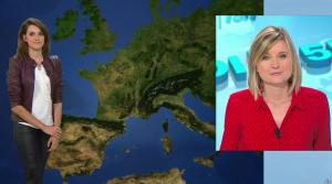 Fanny Agostini à la Météo de BFM TV - 23/01/17 - 04