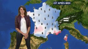 Fanny Agostini à la Météo de BFM TV - 23/01/17 - 09