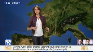 Fanny Agostini à la Météo de BFM TV - 23/01/17 - 11