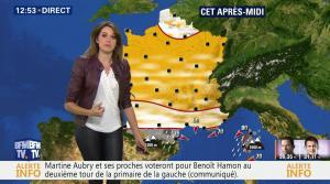 Fanny Agostini à la Météo de BFM TV - 23/01/17 - 14