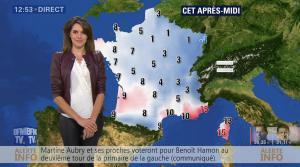 Fanny Agostini à la Météo de BFM TV - 23/01/17 - 16