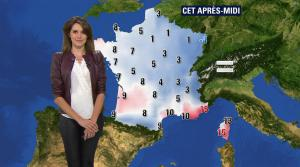 Fanny Agostini à la Météo de BFM TV - 23/01/17 - 17