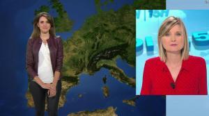 Fanny Agostini à la Météo de BFM TV - 23/01/17 - 18