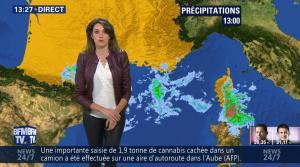 Fanny Agostini à la Météo de BFM TV - 23/01/17 - 20