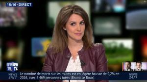 Fanny Agostini à la Météo de BFM TV - 23/01/17 - 26