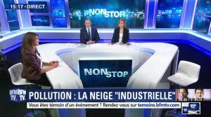 Fanny Agostini à la Météo de BFM TV - 23/01/17 - 27