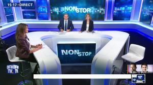 Fanny Agostini à la Météo de BFM TV - 23/01/17 - 28
