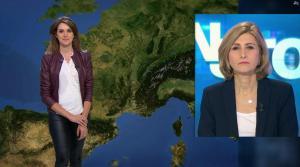 Fanny Agostini à la Météo de BFM TV - 23/01/17 - 29