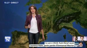 Fanny Agostini à la Météo de BFM TV - 23/01/17 - 30