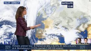 Fanny Agostini à la Météo de BFM TV - 23/01/17 - 31