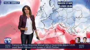 Fanny Agostini à la Météo de BFM TV - 23/01/17 - 33